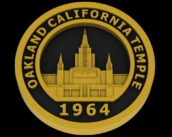 Oakland, California Temple - Brass