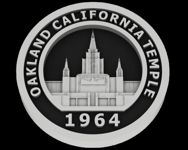 Oakland, California Temple - Silver