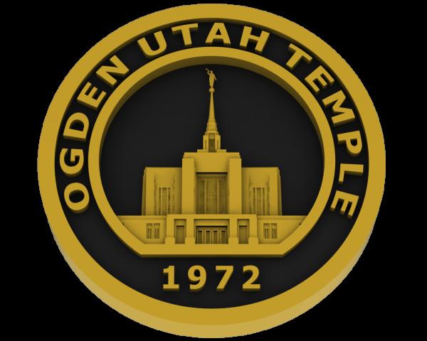 Ogden Temple, Utah Temple - Brass