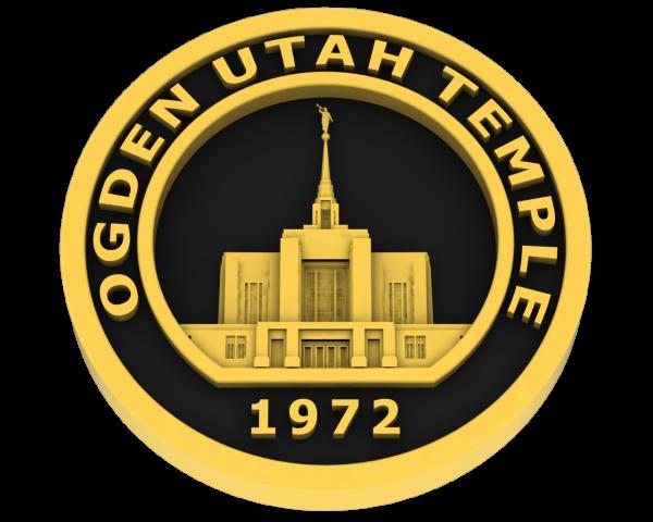 Ogden Temple, Utah Temple - Gold
