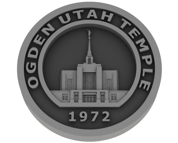 Ogden Temple, Utah Temple - Pewter