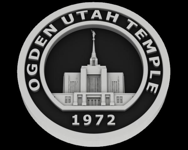 Ogden Temple, Utah Temple - Silver