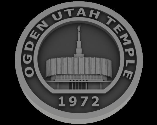 Ogden Temple - Old, Utah Temple - Pewter