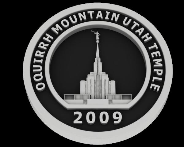 Oquirrh Temple, Utah Temple - Silver