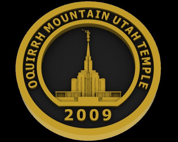 Oquirrh Temple, Utah Temple - Brass