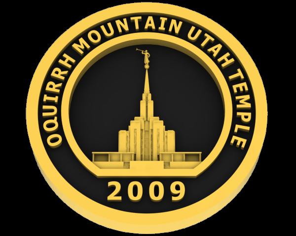 Oquirrh Temple, Utah Temple - Gold