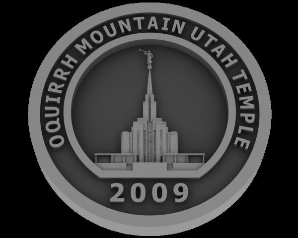 Oquirrh Temple, Utah Temple - Pewter