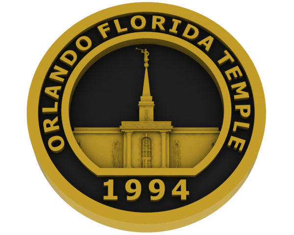 Orlando, Florida Temple - Brass