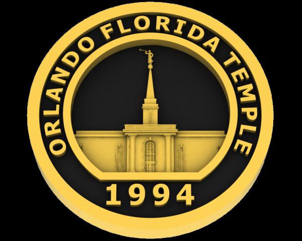 Orlando, Florida Temple - Gold