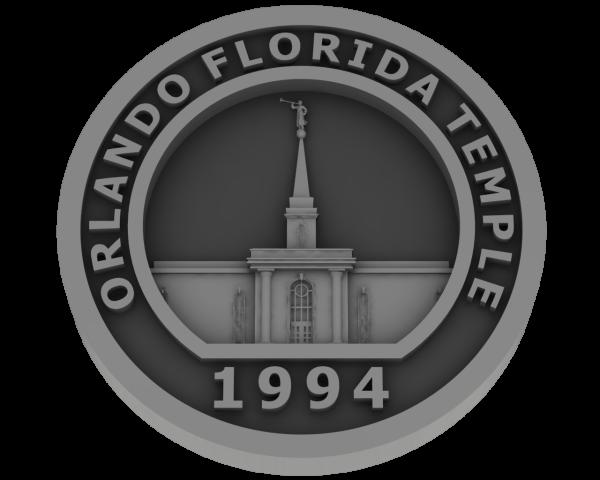 Orlando, Florida Temple - Pewter