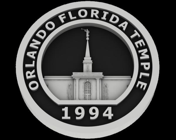 Orlando, Florida Temple - Silver