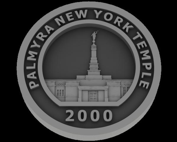 Palmyra New York, Temple - Pewter