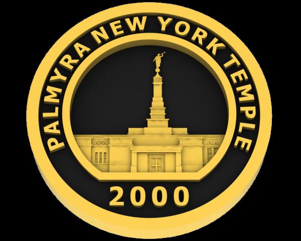 Palmyra New York, Temple - Gold