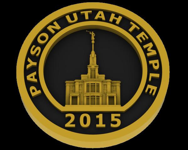 Payson, Utah Temple - Brass