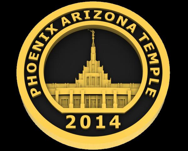 Phoenix Arizona, Temple - Gold