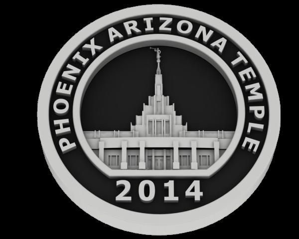 Phoenix Arizona, Temple - Silver