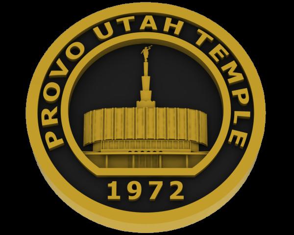 Prove Utah, Temple - Brass