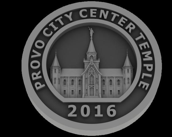 Prove City Center Utah, Temple - Pewter