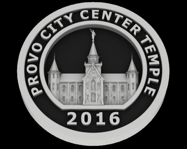 Prove City Center Utah, Temple - Silver