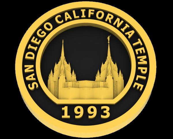 San Diego California, Temple - Gold