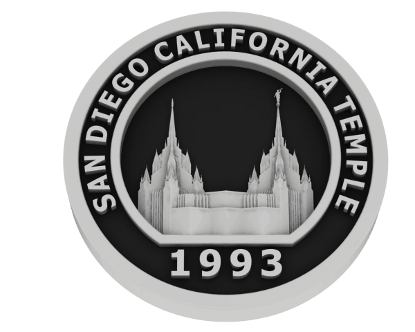 San Diego California, Temple - Silver