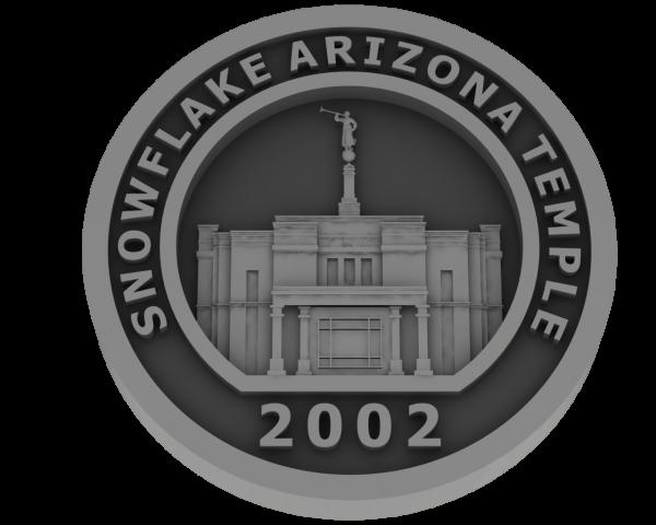 Snowflake, Arizona Temple - Pewter