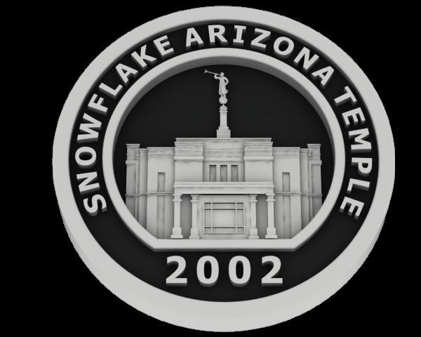 Snowflake, Arizona Temple - Silver