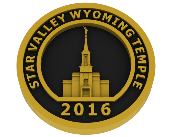 Star Valley, Wyoming Temple - Brass