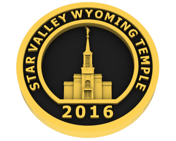 Star Valley, Wyoming Temple - Gold
