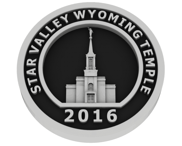 Star Valley, Wyoming Temple - Silver
