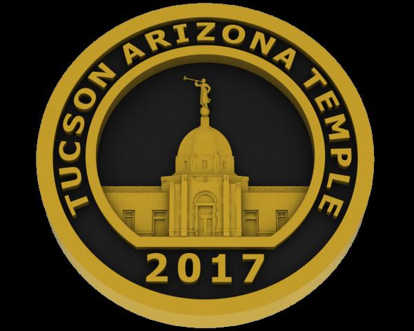 Tucson, Arizona Temple - Brass