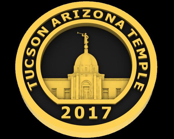 Tucson, Arizona Temple - Gold