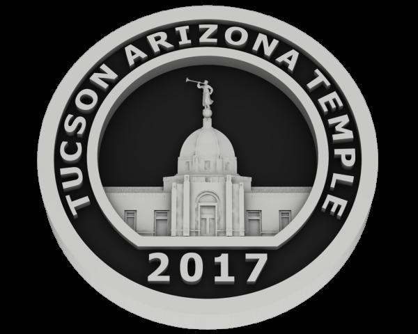Tucson, Arizona Temple - Silver