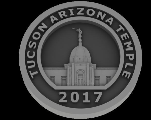 Tucson, Arizona Temple - Pewter