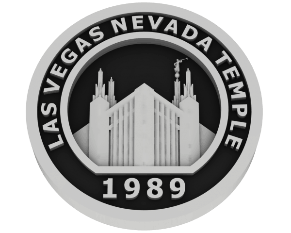 Las Vegas, Nevada Temple - Silver