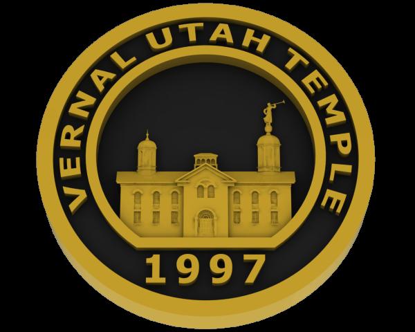 Vernal, Utah Temple - Brass