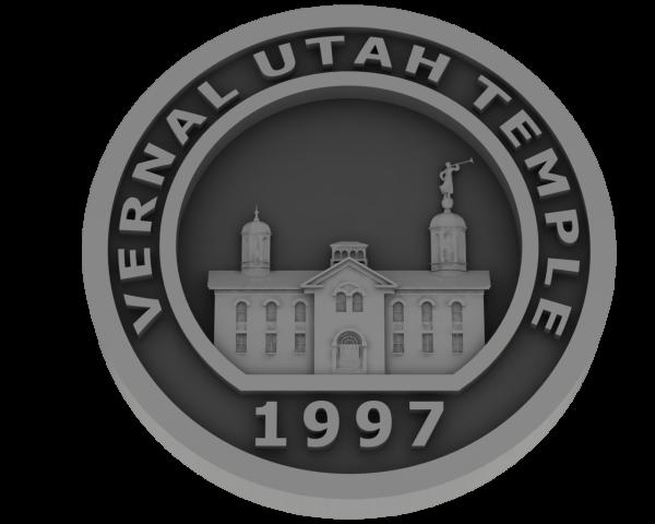 Vernal, Utah Temple - Pewter