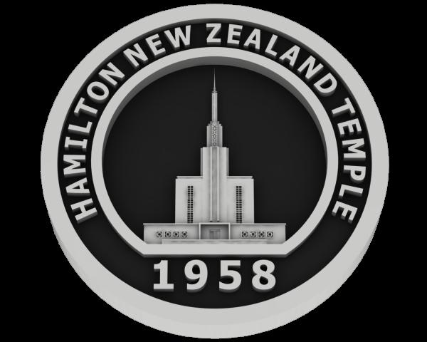 Hamilton, New Zealand Temple - Silver