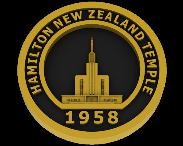 Hamilton, New Zealand Temple - Brass