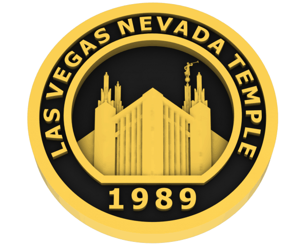 Las Vegas, Nevada Temple - Gold
