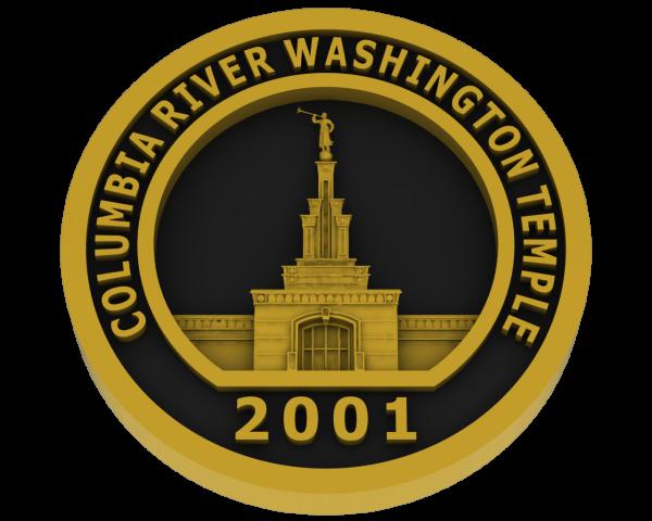 Columbia River, Washington Temple - Brass