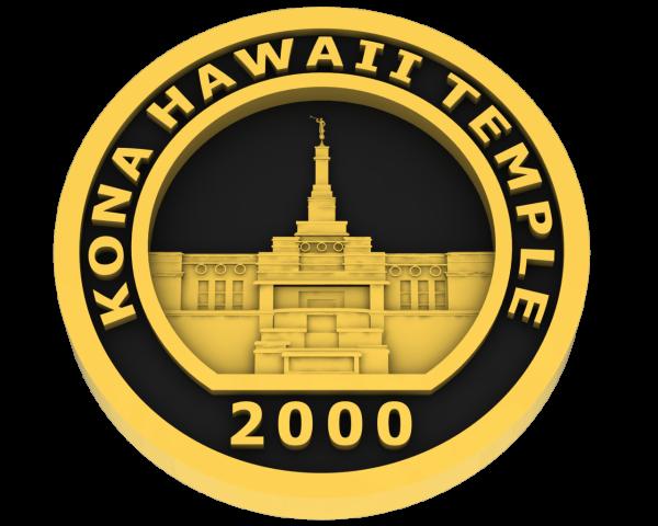 Kona, Hawaii Temple - Gold