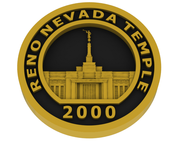 Reno, Nevada Temple - Brass