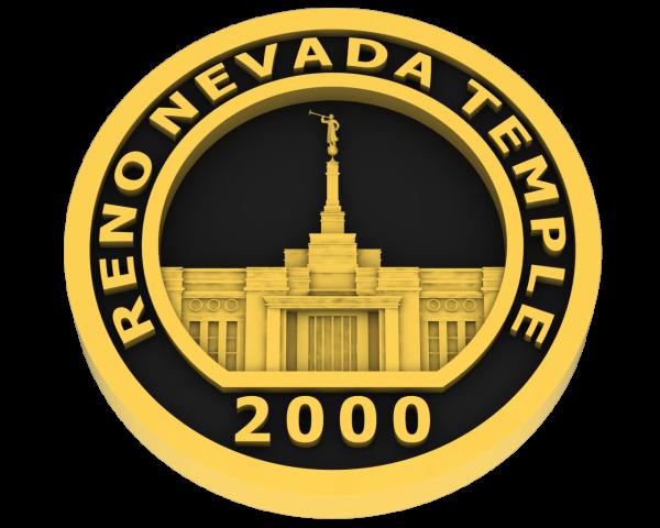 Reno, Nevada Temple - Gold